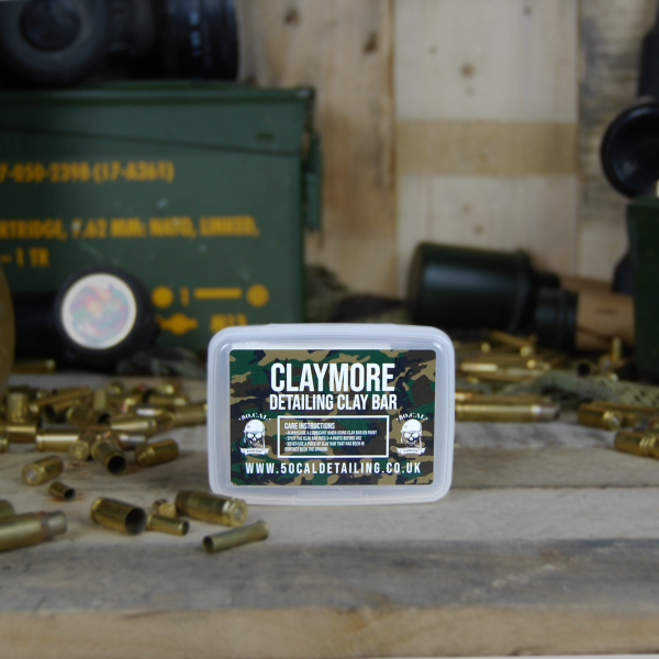 50cal Detailing Claymore Medium Grade White Detailing Clay 100g