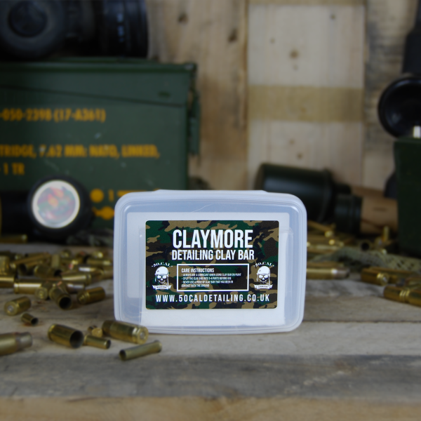 50cal Detailing Claymore Medium Grade White Detailing Clay 200g
