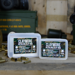 50cal Detailing Claymore Medium Grade White Detailing Clay