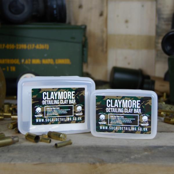 50cal Detailing Claymore Medium Grade White Detailing Clay