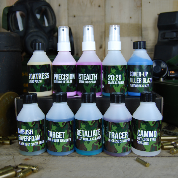 50cal Detailing Full Arsenal Sample Kit