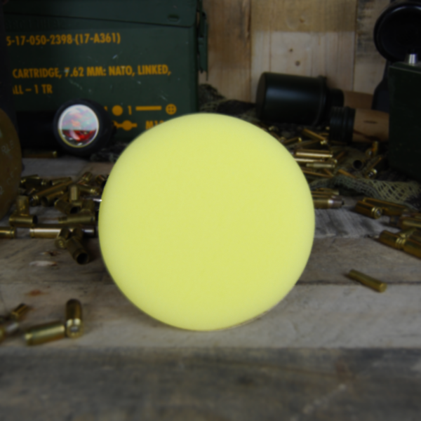50cal Detailing Yellow Foam Wax Applicator Pad