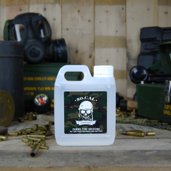 50cal Detailing Cammo high gloss tyre dressing 1L
