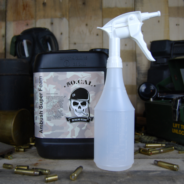50cal Detailing Foam Ambush superfoam 5L foaming sprayer bottle 700ml