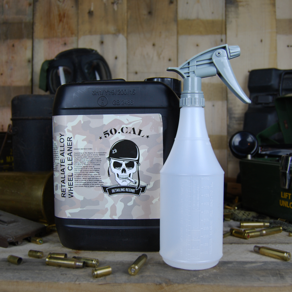 50cal Detailing Retaliate alloy wheel cleaner 5L with Sprayer