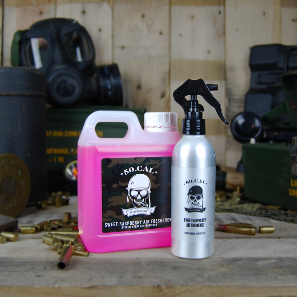 50cal Detailing Sweet Raspberry Spray Air freshener 1L with spray bottle