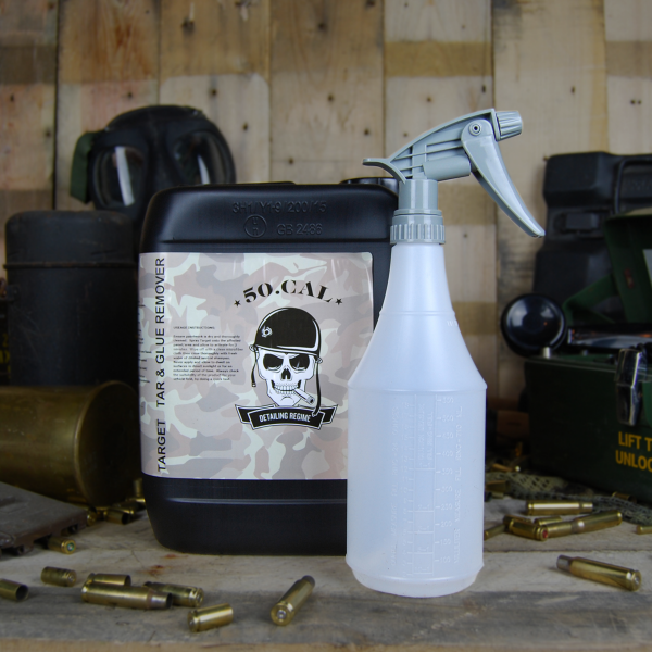 50cal Detailing Target tar and glue remover 5l and sprayer
