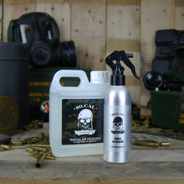 50cal Detailing Tropical Spray Air freshener 1L with bottle